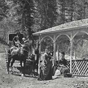 First Pavilion at Ute Iron Spring